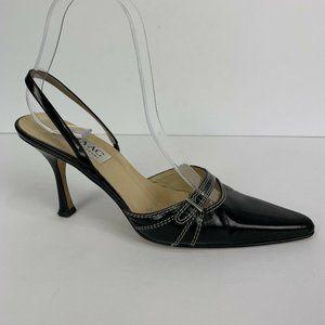 Isaac Mizrahi Women's Pointy Toe Slingback Pumps